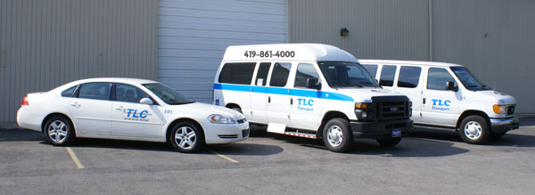 TLC Wheelchair Transportation Shuttle Service Toledo Ohio