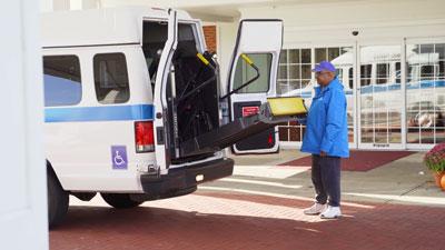 Elderly Services Wheelchair Lift
